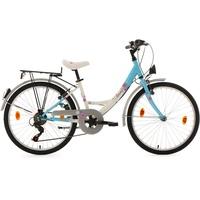 KS-CYCLING Florida 24 Zoll RH 36 cm weiß/blau