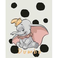 Komar Poster Dumbo Dots, Disney, Höhe: 70cm 40 cm x 50 cm