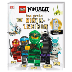 LEGO® NINJAGO® Das große Ninja-Lexikon (Mit exklusiver Minifigur)