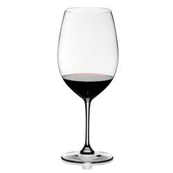 RIEDEL Glas Gläser-Set Vinum Bordeaux Grand Cru 2er Set, Kristallglas weiß