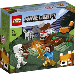LEGO® Puzzle LEGO® Minecraft 21162 Das Taiga-Abenteuer, Puzzleteile