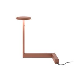 Flat Tischleuchte - Höhe 30 cm / Terrakotta-Rot
