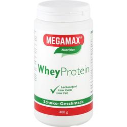 Megamax Wheyprotein Lactosefrei Schoko Pulver