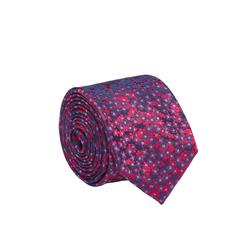 Lavard Rote Krawatte mit Blumenmuster 57055