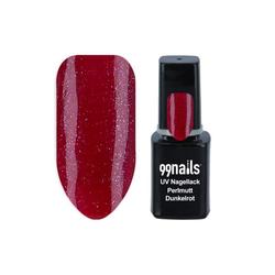 UV Nagellack - Perlmutt Dunkelrot 12ml - UV Lack Gel Nagellack Gellack Gel Lack Led Nagellack Rot