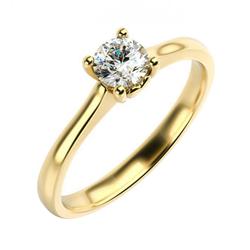 Verlobungsring mit Herzfigur und Diamant Lenal