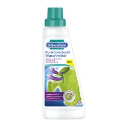 Dr. Beckmann Funktionstextil Waschmittel, Waschmittel für schonende Reinigung der Sport- und Outdoorbekleidung, 500 ml - Flasche