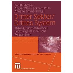 Dritter Sektor / Drittes System - Buch