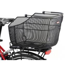 Pletscher Fahrradkorb Hinterradkorb Pletscher Deluxe XXL anthrazit,engma