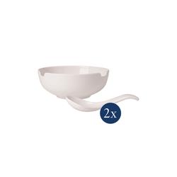 Villeroy & Boch Geschirr-Set Soup Passion Suppen Set 4-teilig (4-tlg), Porzellan