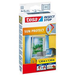 tesa Insektenschutz-Fenster Insect Stop Fliegengitter mit Sonnenschutz für Fenster, (1-St), Insektenschutz, Blendschutz, Sonnenschutz