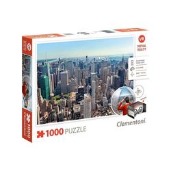 Clementoni® Puzzle Clementoni 39401 - VR New York Puzzle, 1000 Teile, 1000 Puzzleteile