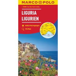 MARCO POLO Karte Ligurien 1:200 000