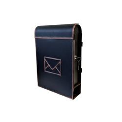 Wohaga Briefkasten Wand Briefkasten mit Zeitungsfach im Antik-Look