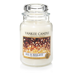 YANKEE CANDLE Große Kerze ALL IS BRIGHT 623 g Duftkerze