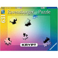 Ravensburger Puzzle Krypt Gradient, 631 Puzzleteile, FSC® - schützt Wald - weltweit; Made in Germany bunt