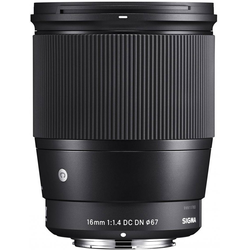Sigma 16 mm f1,4 DC DN [C] für Micro Four Thirds