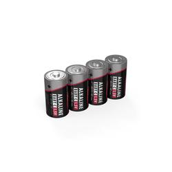 ANSMANN® 4x Alkaline Batterie Baby C 1,5V – LR14 MN1400 Batterien (4 Stück) Batterie