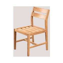 Chaise de jardin en bois de teck Yolen Bois de Teck bois de teck - bois de teck bois de teck - Sklum