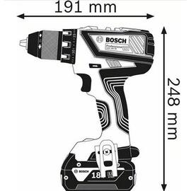 Bosch GSR 18V-28 Professional inkl. 2 x 2,0 Ah + L-Boxx 06019H4102