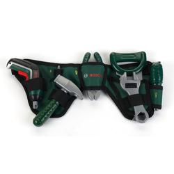 Klein Spielwerkzeug Bosch Werkzeuggürtel grün Kinder Kinderwerkzeug Werkbänke Werkzeug