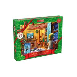 waddingtons Steckpuzzle Christmas 2017 Writing To Santa Puzzle, 1000 Puzzleteile