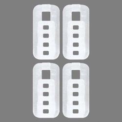 Feststeller Tim, Good Life, Gardinenstangen, Gardinenschienen, (Packung, 4-St), für Vorhangschienen und -stangen 4/6 mm
