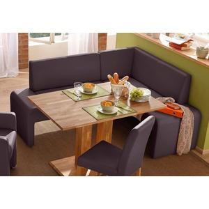 Home Affaire Truhen-Eckbank »Bologna«, braun, Langer Schenkel links, Langer Schenkel links, FSC®-zertifiziert