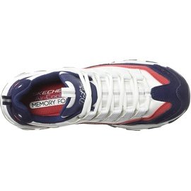 SKECHERS D' Lites - Sure Thing white-red-navy/ white, 40