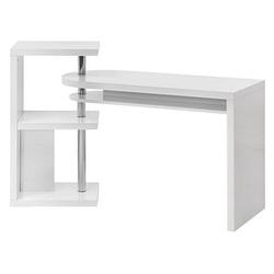 WOHNLING MARCIE Schreibtisch weiß rechteckig