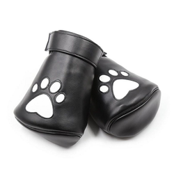 Sandritas Bondage-Set Fäustlinge Fist Hundepfoten BDSM Bondage Fessel - Handschuhe Hund Dog Play