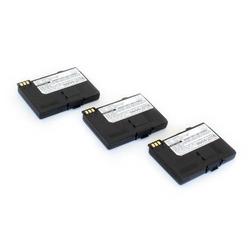 vhbw 3x Li-Ion Akku 850mAh (3.7V) für Handy Telefon Swisscom TOP S600 wie V30148-K1310-X289