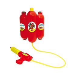 Jamara Wasserpistole Mc Fizz Wasserspritze mit Tank Rucksack 2,5L