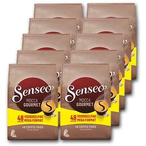 Senseo kaffee Pads Mocca Gourmet 10x48 St. Preis inklusive Kaffeesteuer
