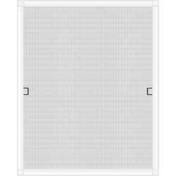 Insektenschutzplissee Nematek® Fliegengitter Fenster LIGHT, ohne Bohren - Insektenschutz Gitter mit Alurahmen - Mückengitter Fenstergitter Fliegengitter, Nematek weiß