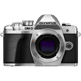 Olympus OM-D E-M10 Mark III silber + 14-42mm II R + 40-150mm R