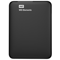 Western Digital Elements Portable 2TB USB 3.0 schwarz (WDBU6Y0020BBK-EESN)
