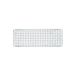 Nachtmann Servierplatte Bossa Nova Servierplatte rechteckig 42 cm, Kristallglas, (1-tlg)