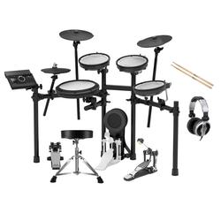 Roland TD-17KV V-Drum Kit Set inkl. Hocker, Sticks, Fußmaschine & Kopfhörer