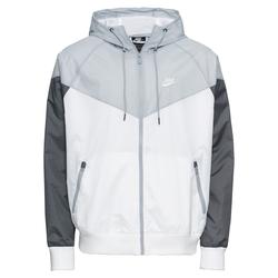 Nike Sportswear Herren Jacke weiß / grau / dunkelgrau