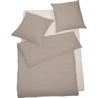 SCHLAFGUT Select Lipari toffee (155x220+80x80cm)
