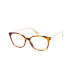Dior DIORSIGHT O1 086, inkl. Gläser, Cat Eye Brille, Damen