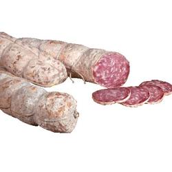 Bazza Schweinesalami mit Knoblauch - Salami aus Schweinefleisch mit Knoblauch...