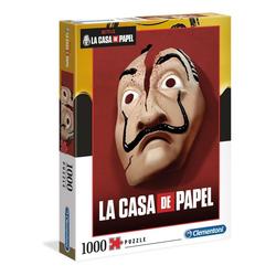 Clementoni® Puzzle La Casa De Papel 1000 Teile Puzzle, Puzzleteile bunt