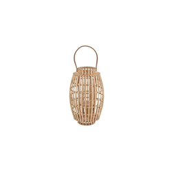 BUTLERS Laterne BAMBOO NIGHTS Laterne mit Henkel 36 cm
