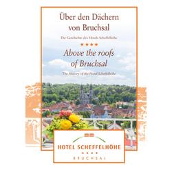 Über den Dächern von Bruchsal / Above the roofs of Bruchsal als Buch von Christian Jung