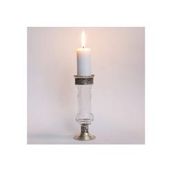 Casa Moro Kerzenständer Orientalischer Kerzenständer marokkanische Kerzenleuchter Manar, Kerzenhalter für romantische Beleuchtung Kerzenlicht & Dekoration, weiß
