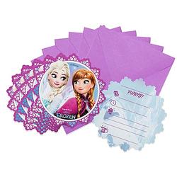 """Einladung """"Frozen"""", 6 Stück"""