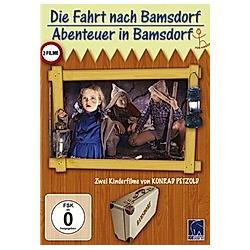 Die Fahrt nach Bamsdorf / Abenteuer in Bamsdorf - DVD  Filme