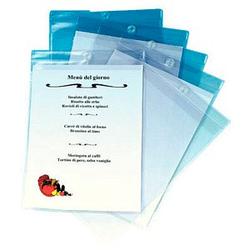 10 LEITZ Sichttaschen Sichttasche 4094 transparent genarbt DIN A4